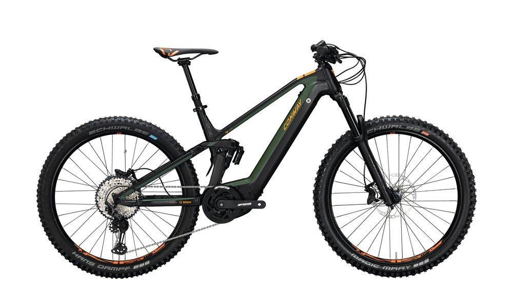 Conway Xyron 427 Herren 43 cm schwarz, grün
