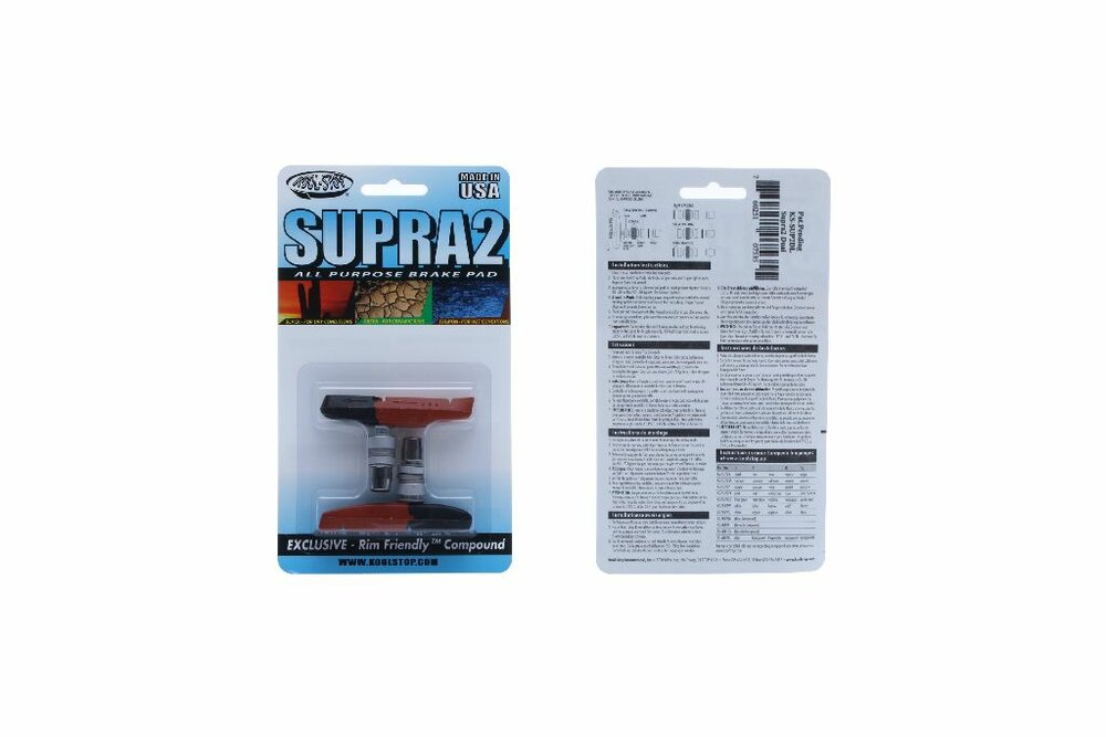 Kool Stop MTB Supra 2 Dual Compound RE437KS