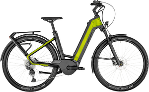 Bergamont E-Ville SUV - black/lime green metallic (matt/shiny) - 58 cm